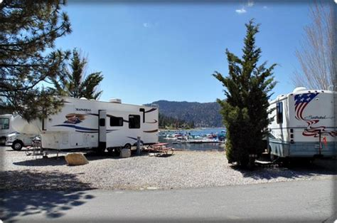 big bear lake rv  trailer park holloways marina