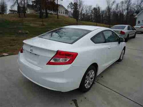 Honda Civic 2012 Two Door by Sell Used 2012 Honda Civic Lx Coupe 2 Door 1 8l In