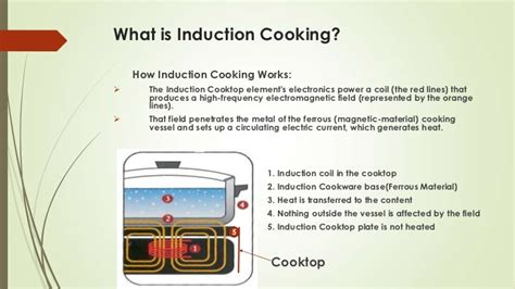 induction cooker how it works induction cooking