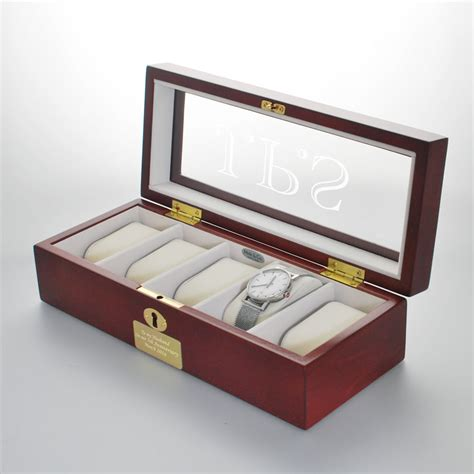 personalised luxury  box wooden engraved  box