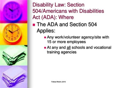 americans with disabilities act section 504 disabilities and you student edition 2