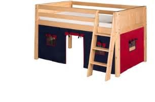 Loft Bed Tent Kit Camaflexi Fabric Tent Kit For Low Loft Bed Blue