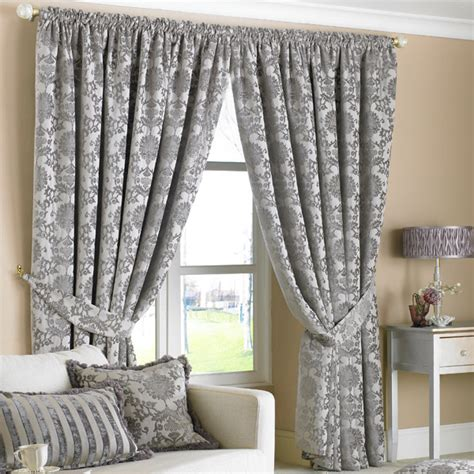 black and grey bedroom curtains paoletti hanover chenille jacquard lined pencil pleat