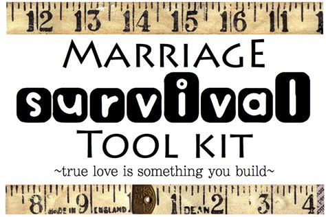 creative quot try quot als marriage survival tool kit