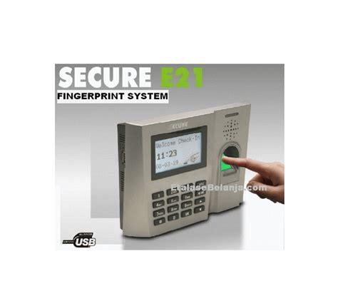 Mesin Absensi Sidik Jari Secure jual secure se 21 mesin absensi fingerprint 1800 sidik