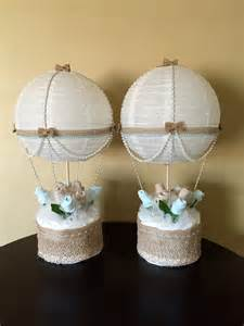 centerpiece for baby shower air balloon baby shower table centerpiece by