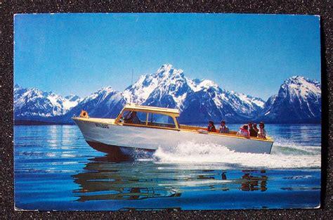 1974 boatride jackson lake grand teton national park wy ebay - Boat Ride Grand Teton National Park