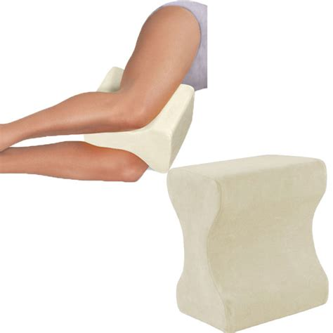 Orthopedic Pillow For Legs by Contour Memory Foam Leg Pillow Orthopaedic Firm Back Hips