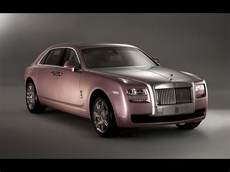2011 Rolls Royce Rose Quartz Ghost   Front Angle   1920x1440   Wallpaper