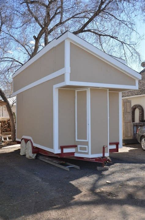 tiny house shells tiny house shell on wheels for just 7k