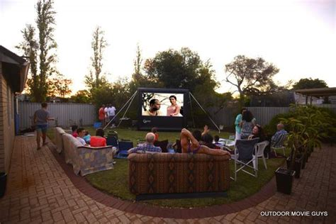 backyard party hire how to add backyard movies to your successful party hire