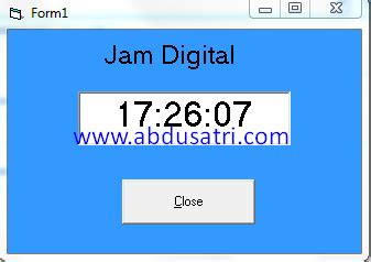 membuat jam digital dengan visual basic 2010 membuat jam digital dengan visual basic 6 0 danish f
