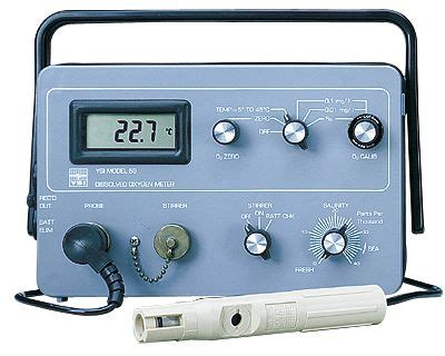 Do Meter Ysi ysi field dissolved oxygen meter 115 vac model 58 from davis instruments