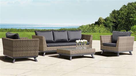 rattan sofa grau nauhuri rattan lounge set grau neuesten design