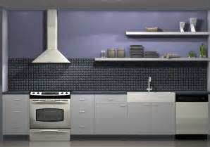 Wall Cabinets For Kitchen Kitchen Budget Solution Shelves Instead Of Wall Cabinets
