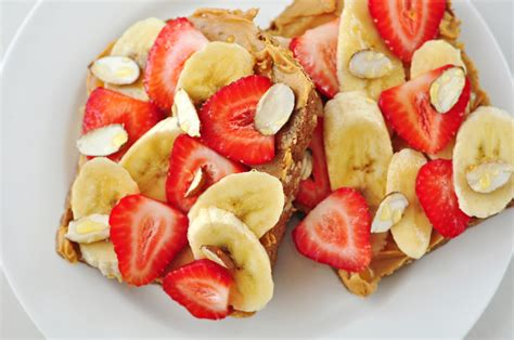 2 whole grain toast calories whole grain peanut butter and fruit toast