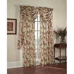 amore 54x84 window set with attached valance kmartcom window drapes curtain panels sears