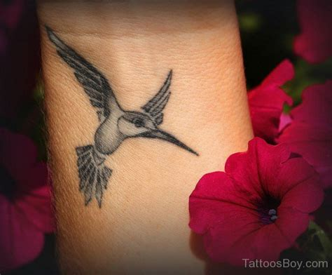 hummingbird wrist tattoos parts tattoos designs pictures