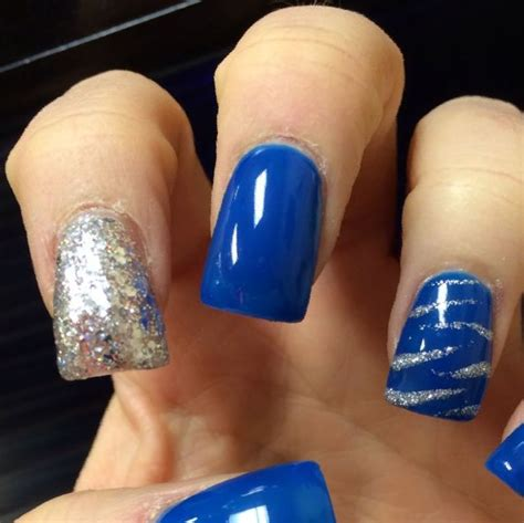 Trends Bandage Dresses To Blue Nails Style Weekly Couture In The City by Silver Nails For Prom Nail Ftempo