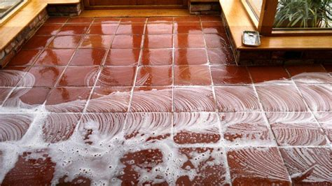 terracotta tiled floor maintained in fareham hshire