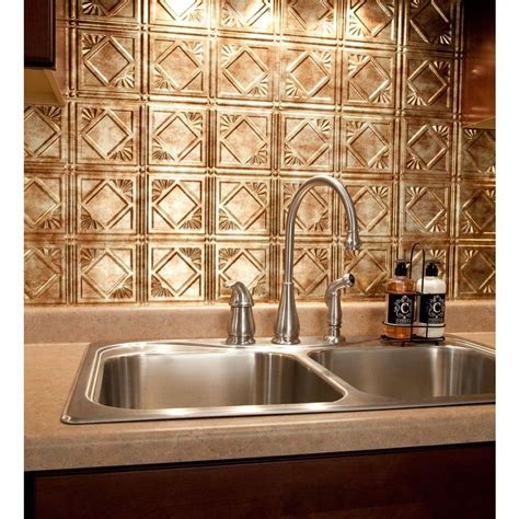 backsplash panel fasade 18 in x 24 in traditional 4 pvc decorative