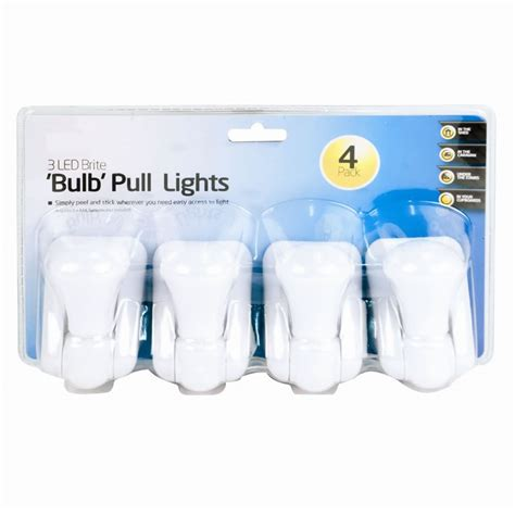battery powered lights for sheds 4 pcs 3 led bright battery operated pull light lamps