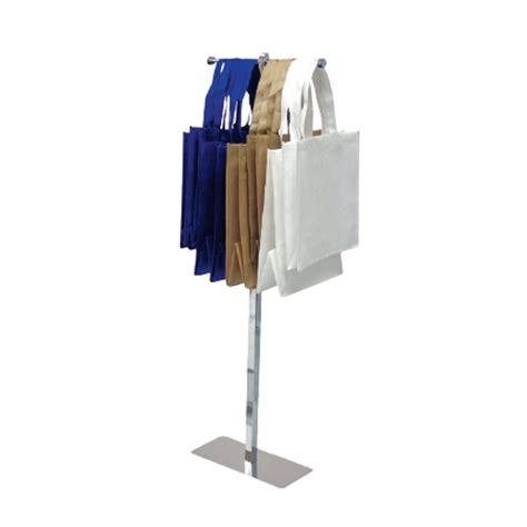 Bag Holder Stand by Trade Show Bag Holder Portable Tote Bag Stand