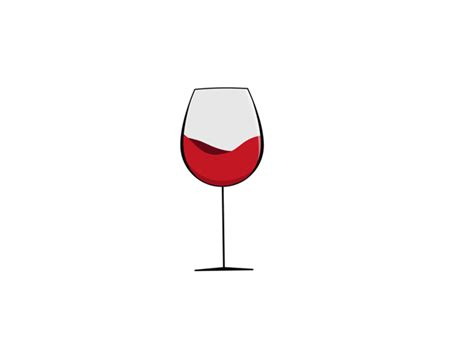 wine birthday gif spinning wine glass animation by brad nickerson dribbble