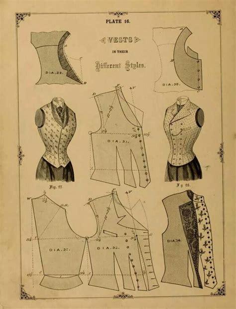 victorian pattern pinterest victorian vest pattern vintage pinterest