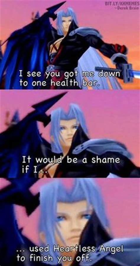 Sephiroth Meme - kingdom hearts on pinterest kingdom hearts kingdom