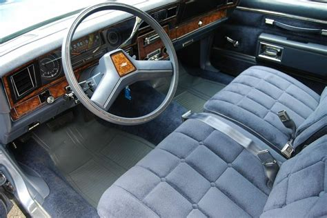 Caprice Interior by 1984 Chevrolet Caprice Classic In Light Royal Blue Poly