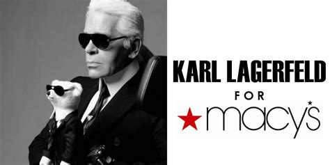 Karl Lagerfelds Own Brand Is Set To Expand by Karl Lagerfield For Macys Designer Collaboration