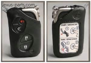 Lexus Key Replacement Cost Lexus Parts S 2006 2007 Smart Access Leather Key