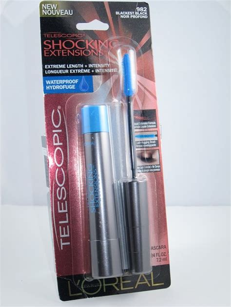 Loreal Telescopic Mascara Expert Review by L Oreal Telescopic Shocking Extensions Mascara Review