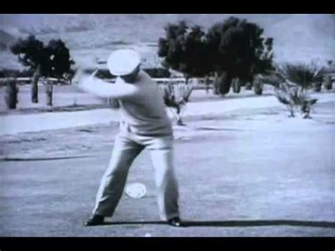 ben hogan slow motion golf swing ben hogan slow motion video transition training 1 youtube