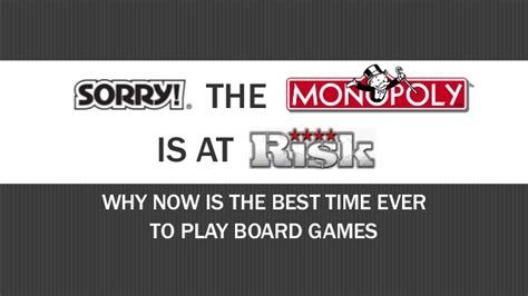 Why Is Now The Right Time For An Mba by Sorry The Monopoly Is At Risk Why Now Is The Best Time