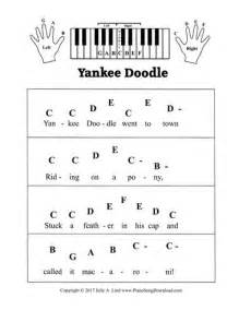 yankee doodle farm indiana 12 best pre staff piano sheet images on