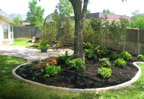 Backyard Trees Landscaping Ideas 15 Beautiful Ideas For Decorating The Landscape Around The Trees