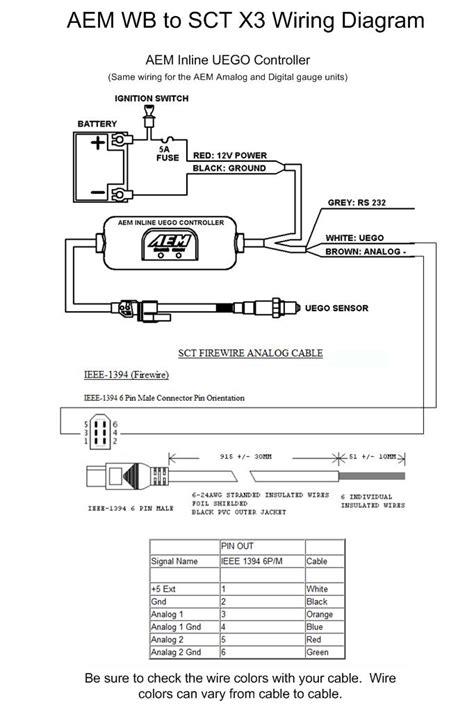 aem wideband wiring diagram shift light wiring diagram