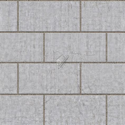 Baju Pria 3d Paving Block Blue paving outdoor concrete regular block texture seamless 05734