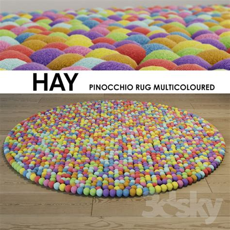 Hay Pinocchio Rug by 3d Models Carpets Hay Pinocchio Rug Multicoloured