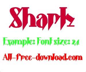 free shark fonts found some font relate shark clipart in font