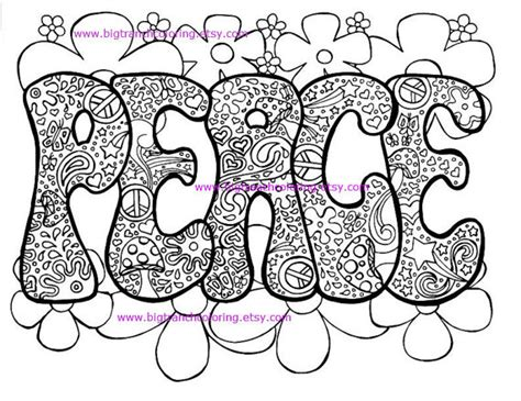 coloring pages for adults peace adult coloring page hippie retro peace colouring