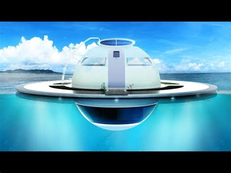 floating boat house ufo futuristic floating ufo home off grid sustainable