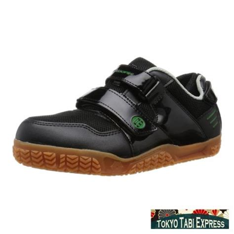 roof work black green sneakers anti slip japanese