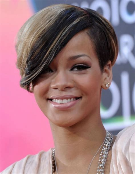shorter hairstyles with side bangs and an angle short hair with side bangs cool hairstyles