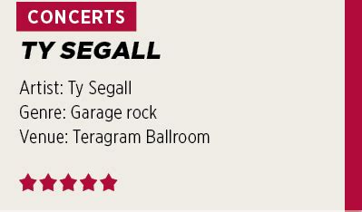 Vitamin Teragram review ty segall s energy is infectious and buoyant as daily trojan