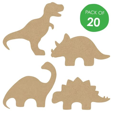 printable dinosaur shapes wooden dinosaur shapes cleverpatch