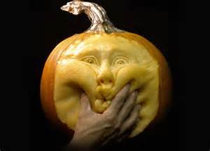 most expressive pumpkin face sculptures ever spicytec