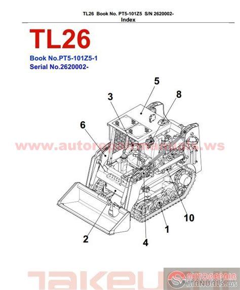 takeuchi tl130 wiring diagram takeuchi tl130